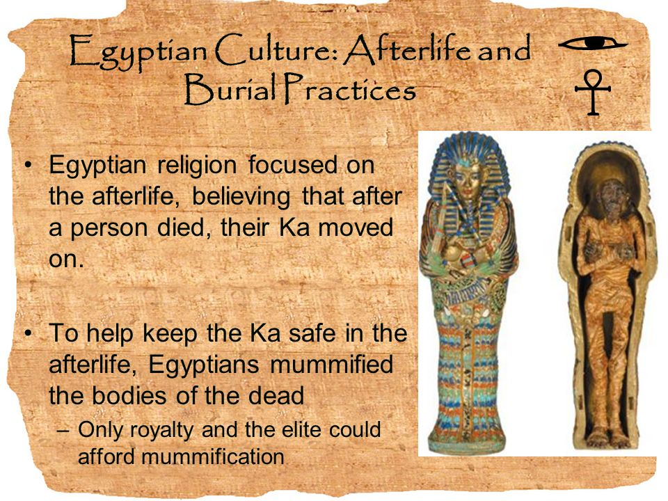 ancient egypt the burials and spiritual Egytpology: the mysterious burial practices in ancient  burial custom which was not only common in predynastic egypt  jar burials' or 'urn.
