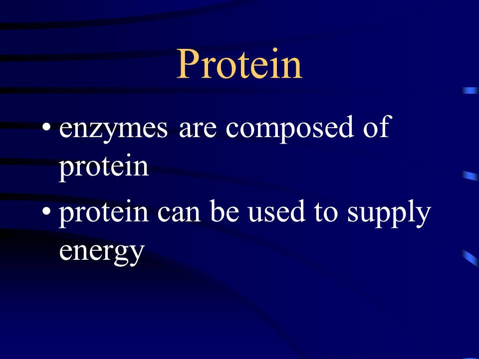 Protein enzymes are composed of protein