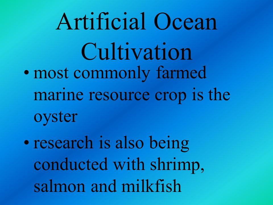 Artificial Ocean Cultivation