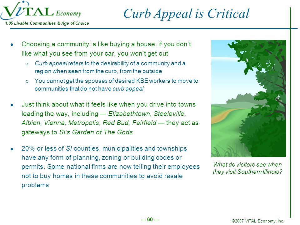 Curb Appeal is Critical
