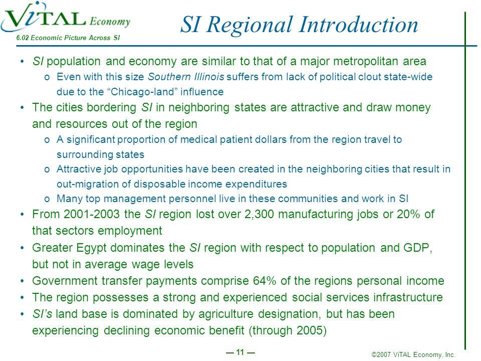 SI Regional Introduction