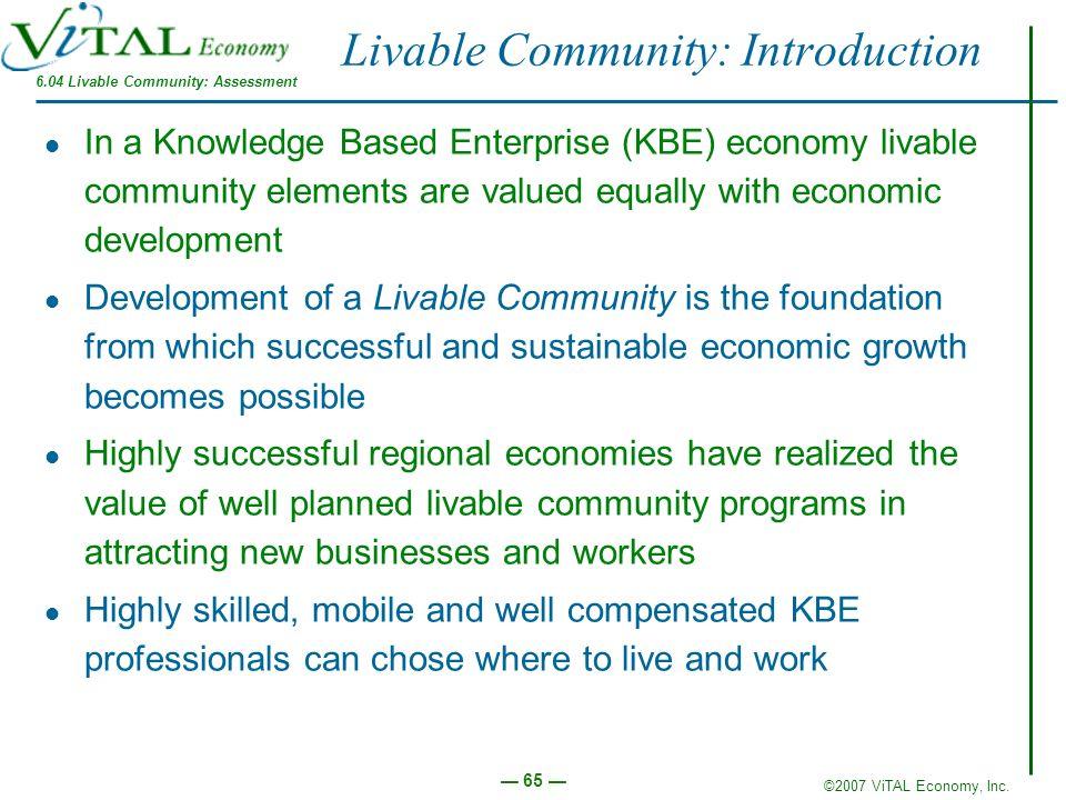 Livable Community: Introduction