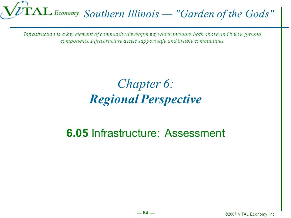 Chapter 6: Regional Perspective