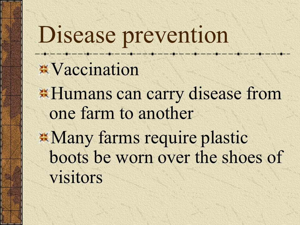 Disease prevention Vaccination