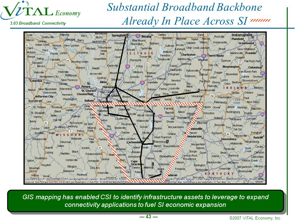 Substantial Broadband Backbone Already In Place Across SI