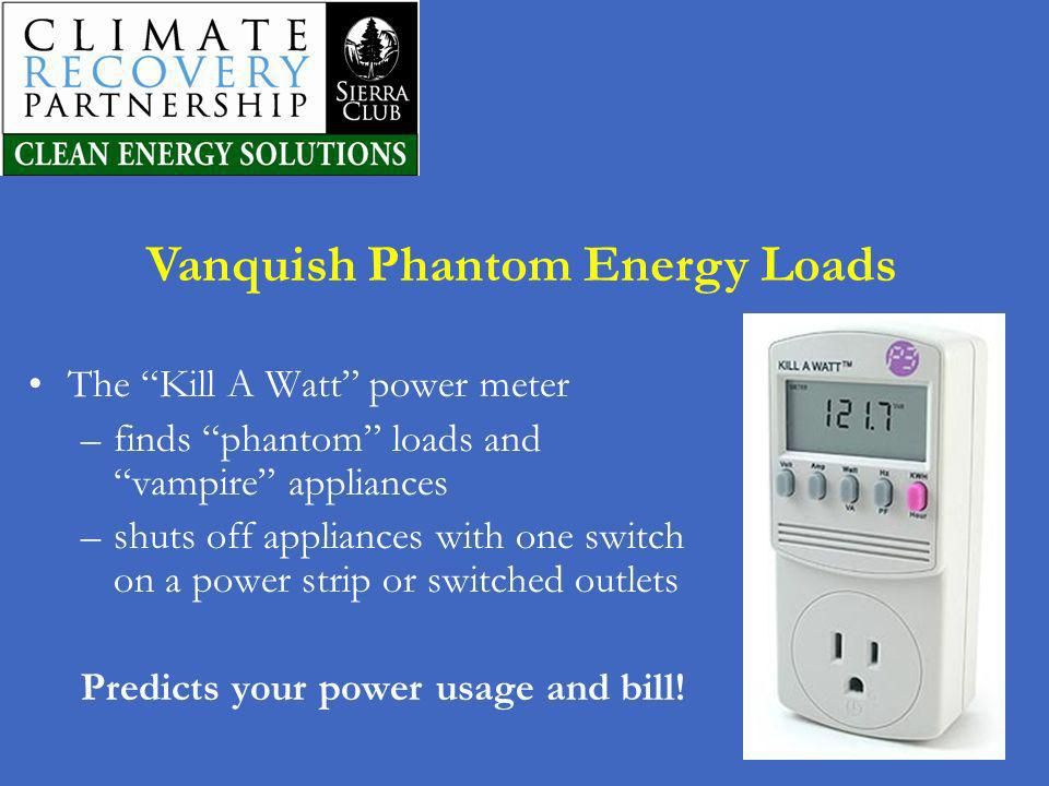 Vanquish Phantom Energy Loads