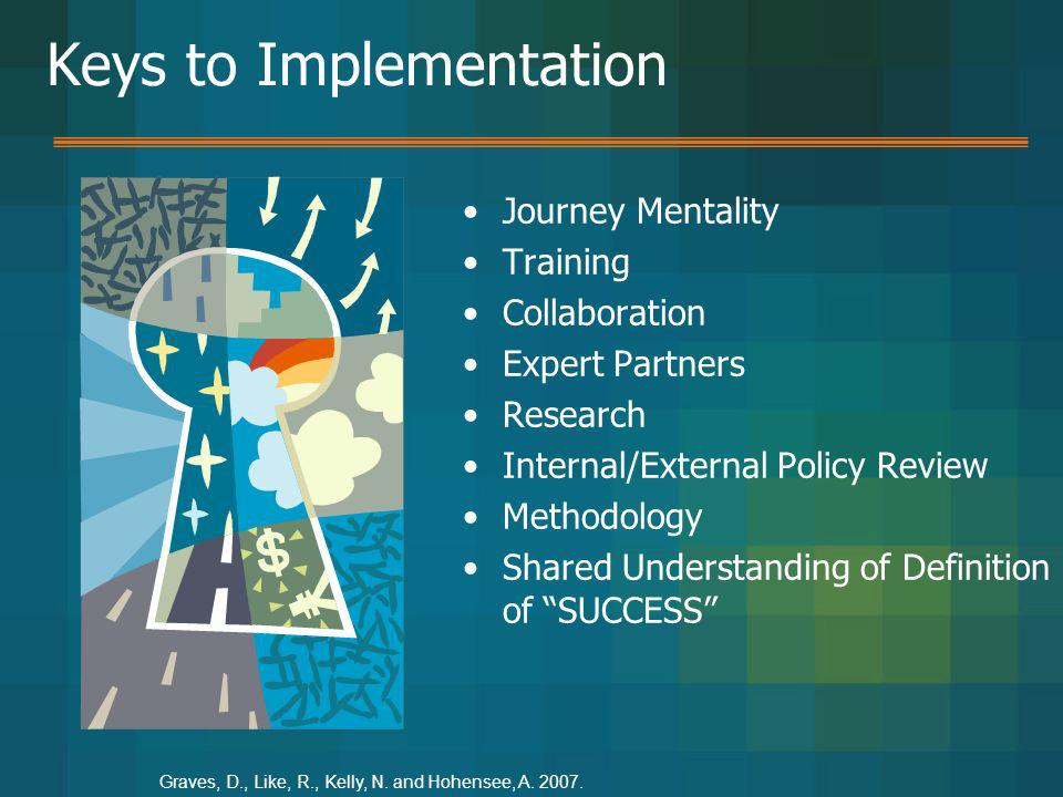 Keys to Implementation
