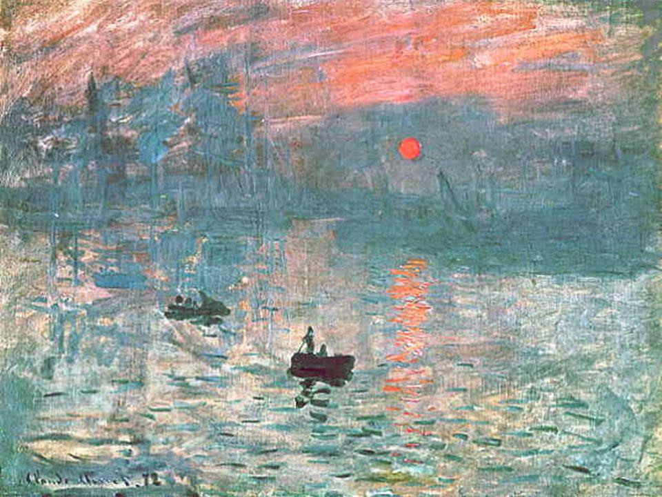 Impression Sunrise; 1873 – Radicals – Impressionists was coined as a satiric label