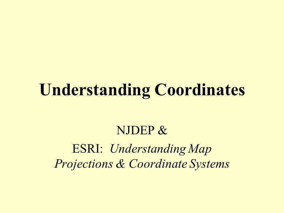 Understanding Coordinates
