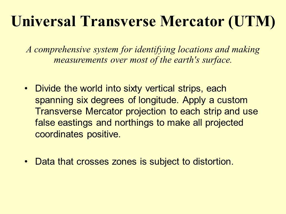 Universal Transverse Mercator (UTM)