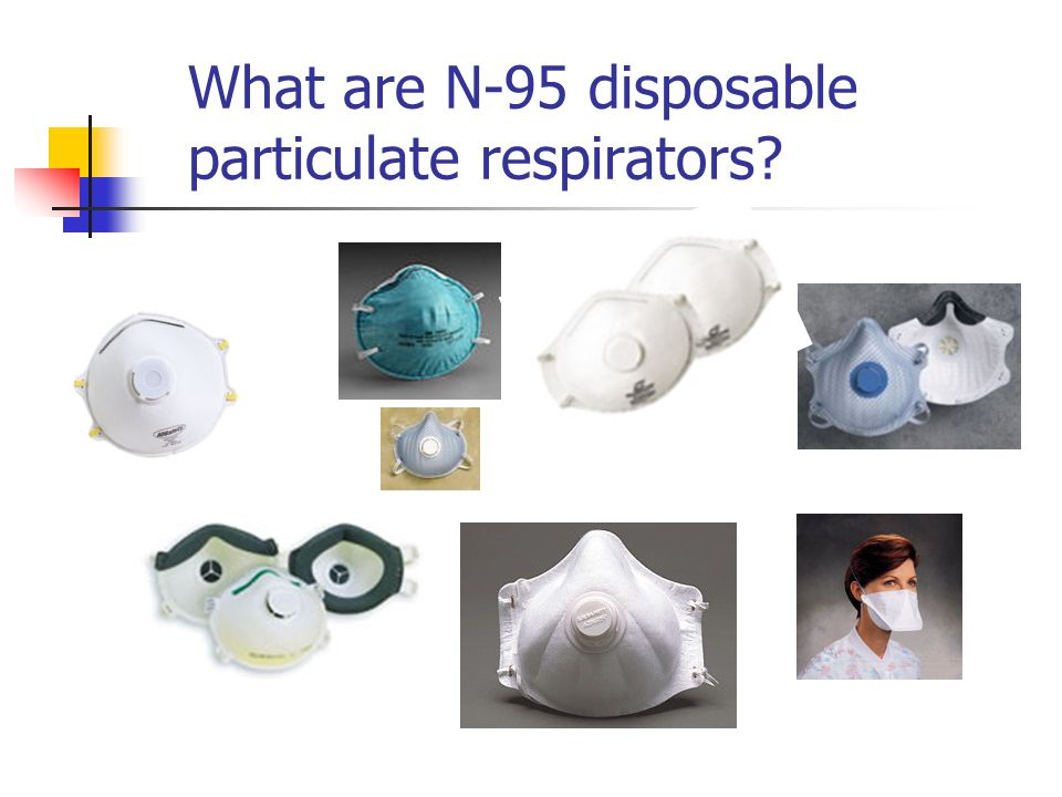What are N-95 disposable particulate respirators