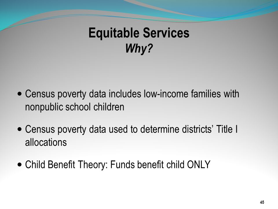 Equitable Services Why