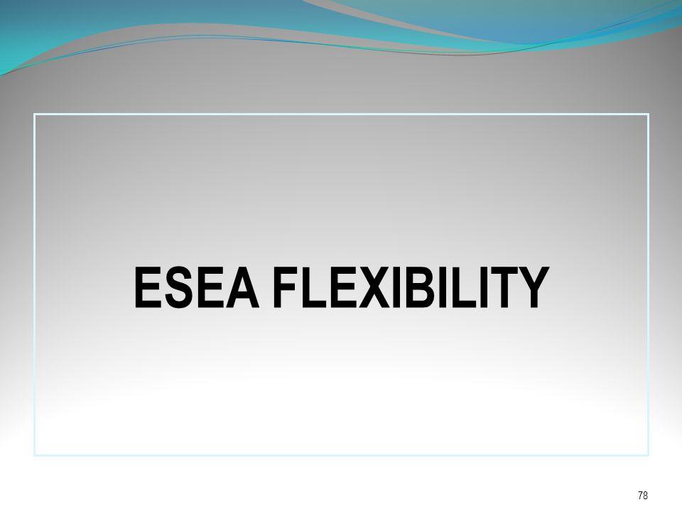 ESEA FLEXIBILITY