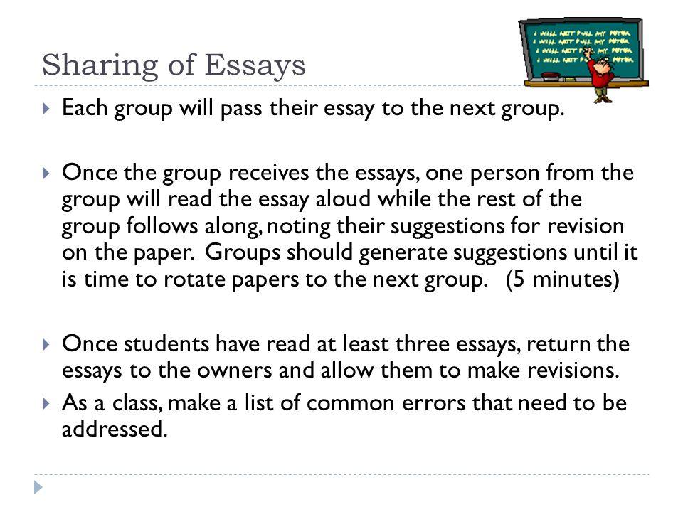 student vignette essay