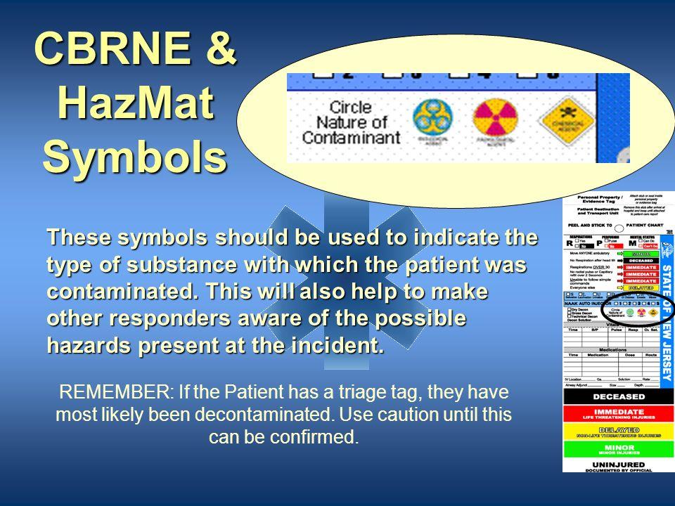 CBRNE & HazMat Symbols