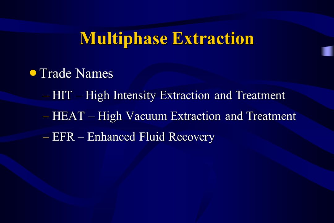 Multiphase Extraction