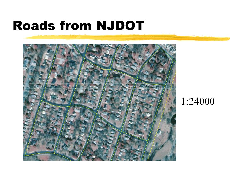 Roads from NJDOT 1:24000