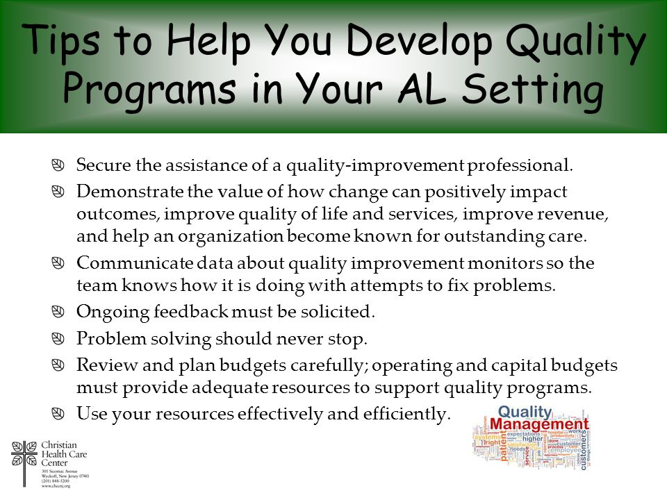 Tips to Help You Develop Quality Programs in Your AL Setting