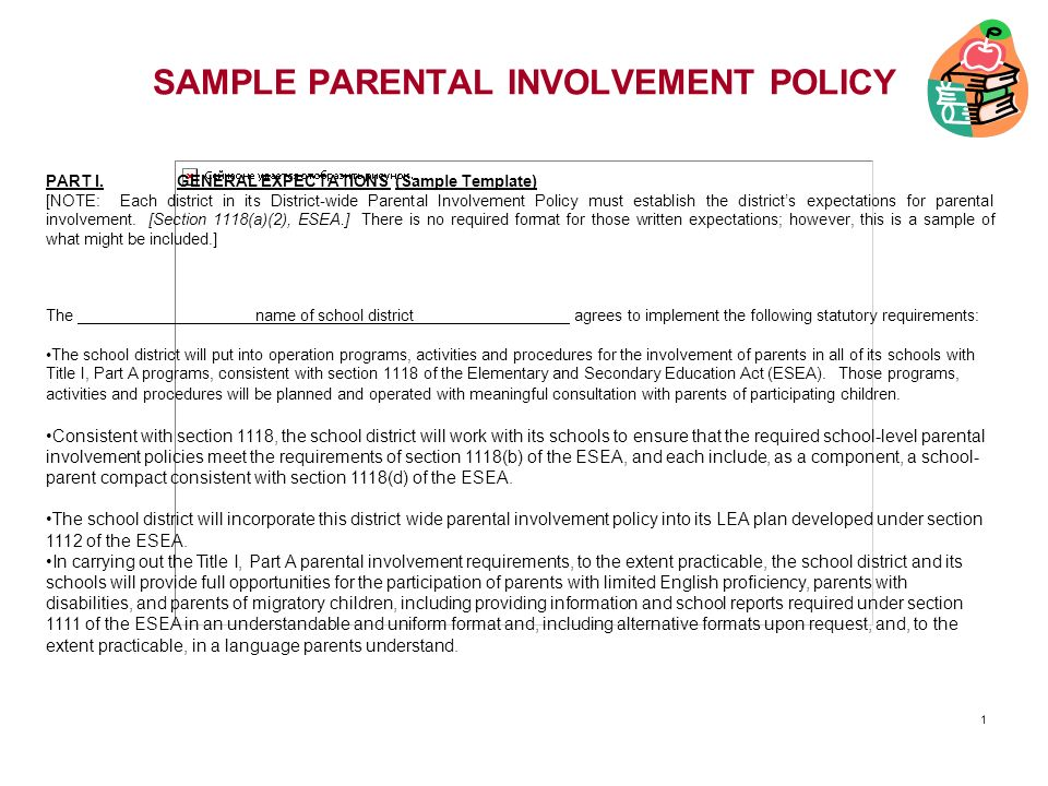 parent involvement plan template samples and handouts powerpoint sample slide ppt download