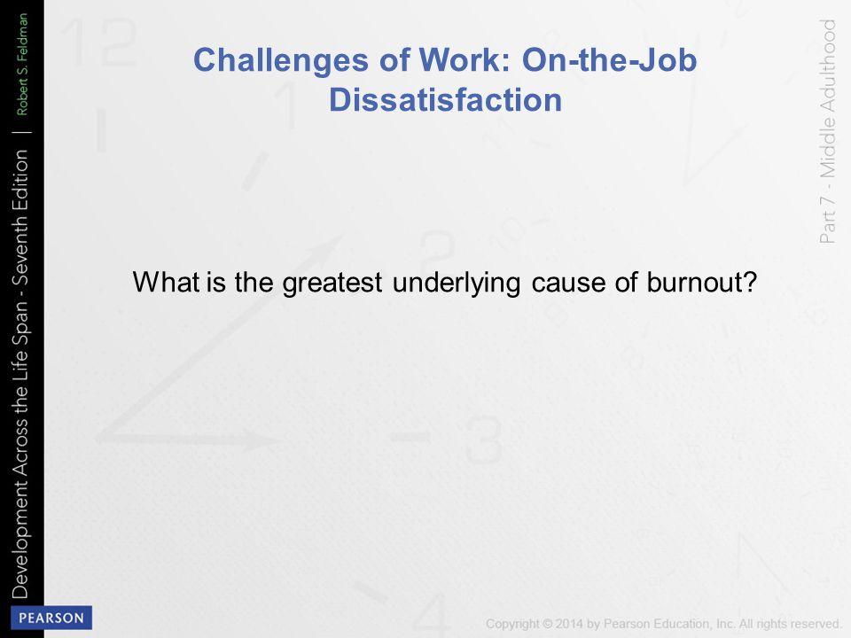 causes of job dissatisfaction pdf