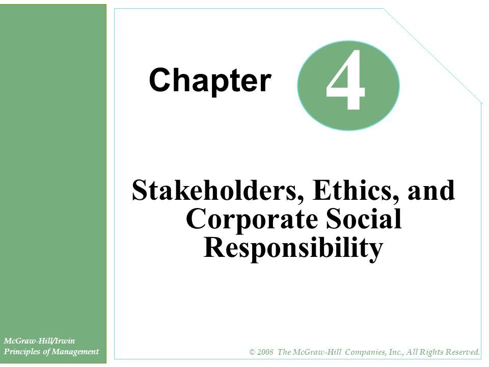corporate social responsibility stakeholders The starbucks mission statement reflects the values of corporate social responsibility learn about our contribution to communities like yours.