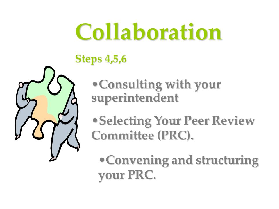 Collaboration Consulting with your superintendent