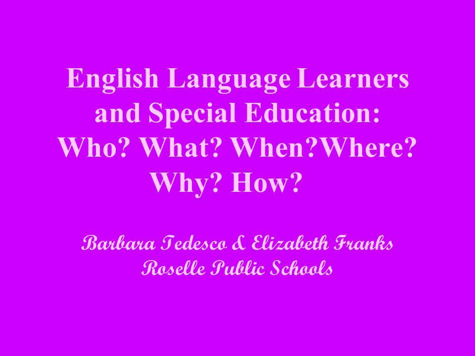 Barbara Tedesco & Elizabeth Franks Roselle Public Schools