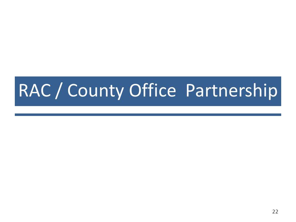 RAC / County Office Partnership