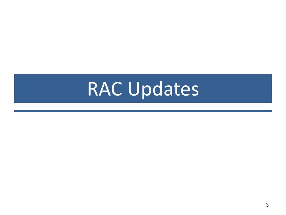 RAC Updates