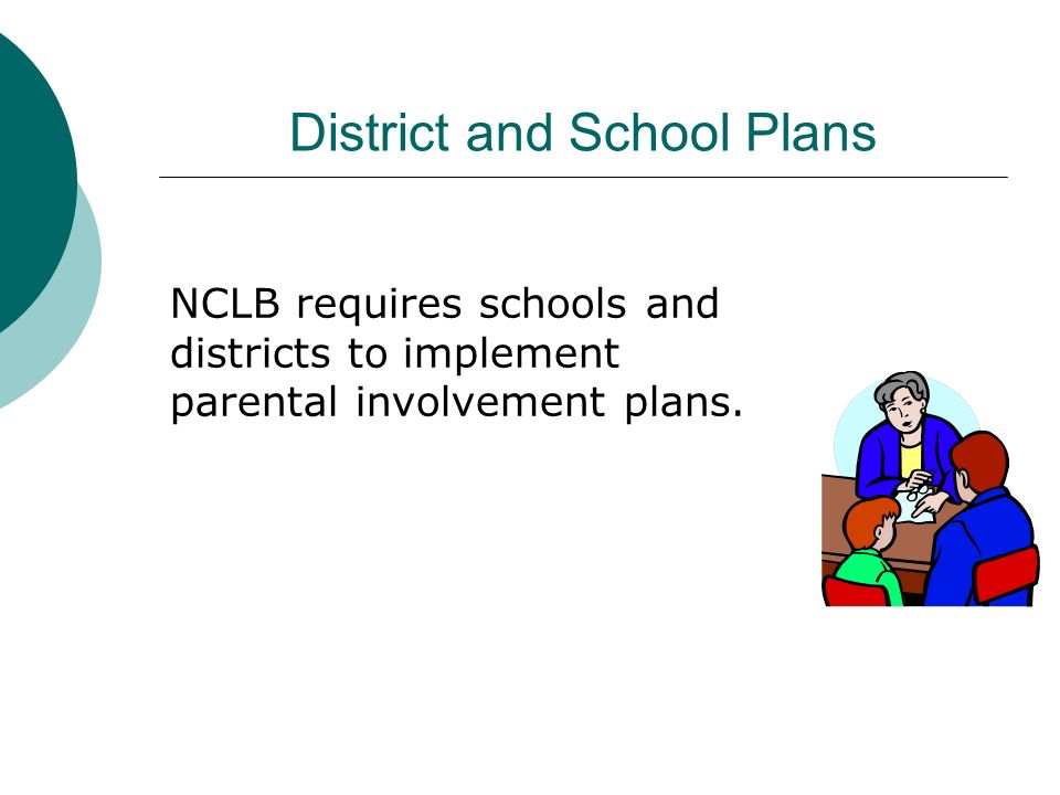 District and School Plans