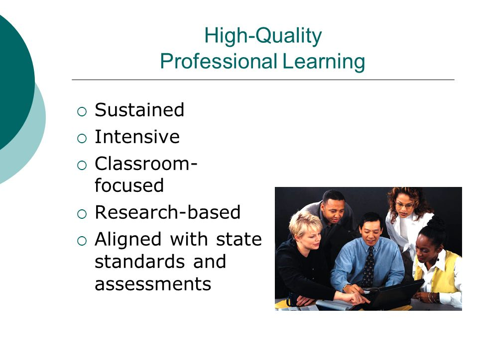High-Quality Professional Learning