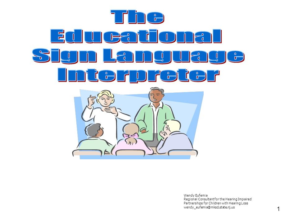 The Educational Sign Language Interpreter