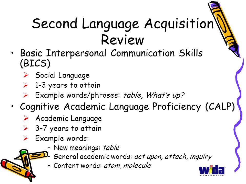Second Language Acquisition Review