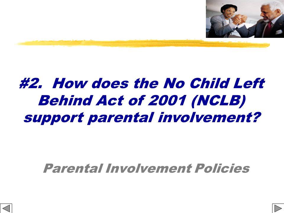 Parental Involvement Policies