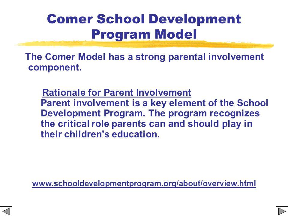 Comer School Development Program Model
