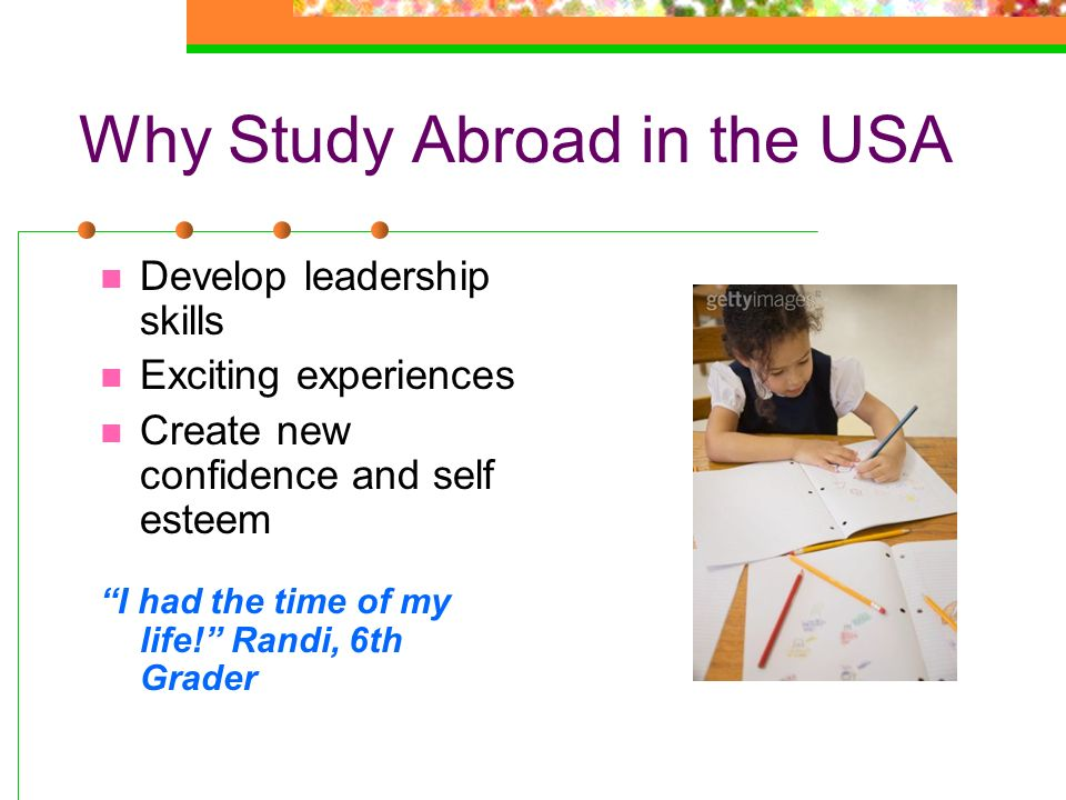 Why Study Abroad in the USA
