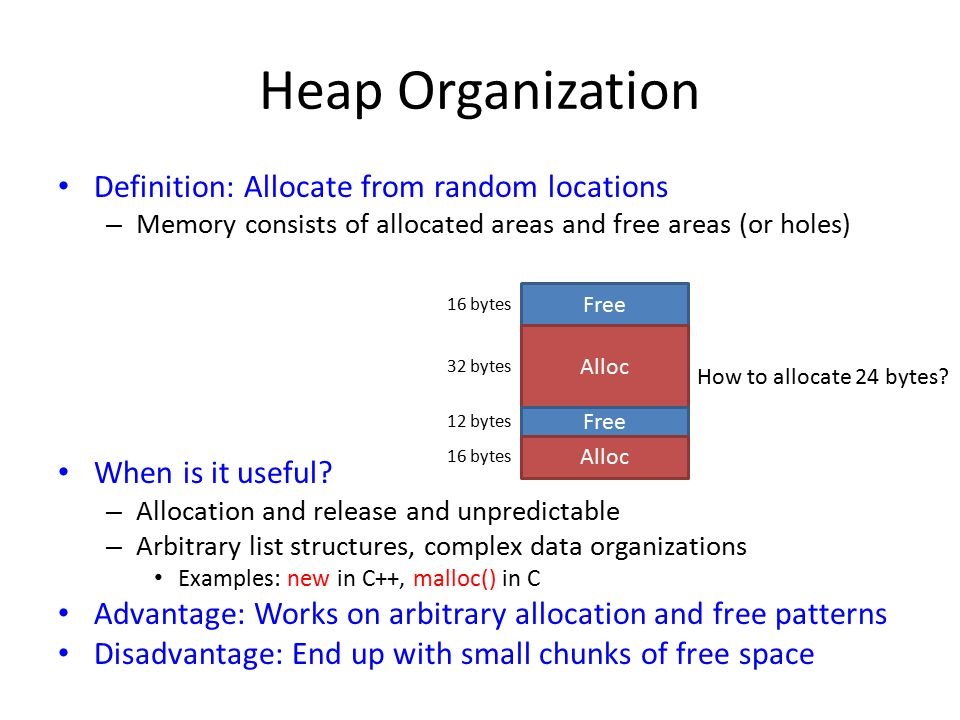 memory allocation in os pdf