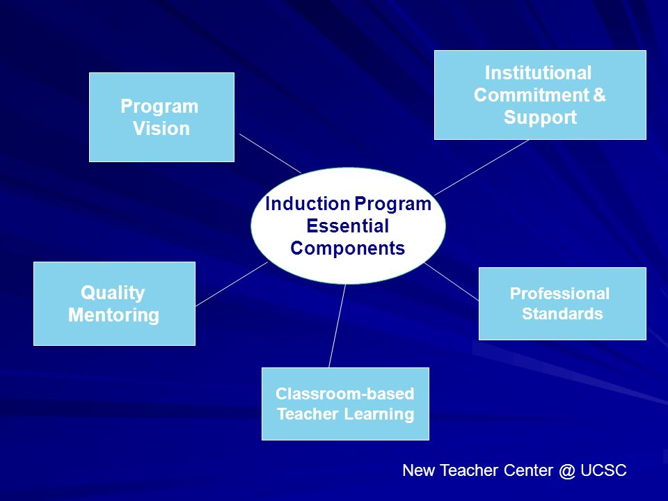 Institutional Commitment & Support Program Vision Induction Program
