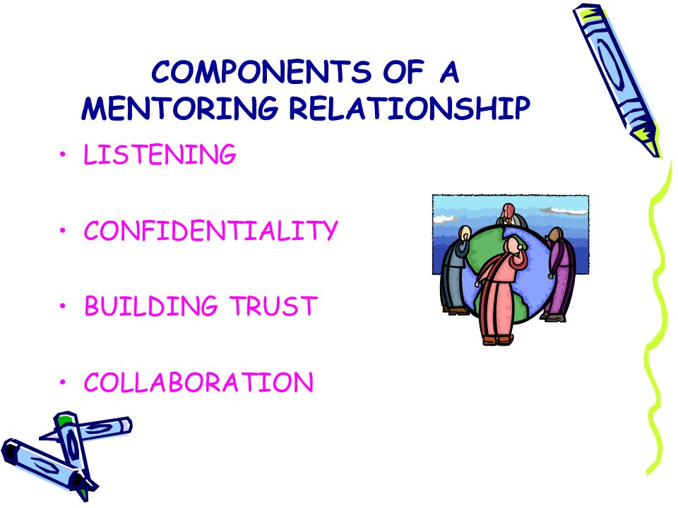 COMPONENTS OF A MENTORING RELATIONSHIP