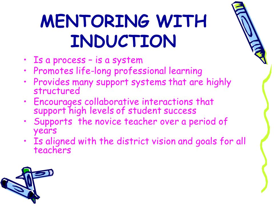 MENTORING WITH INDUCTION
