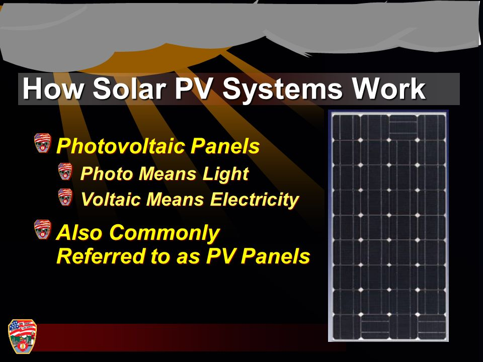 How Solar PV Systems Work