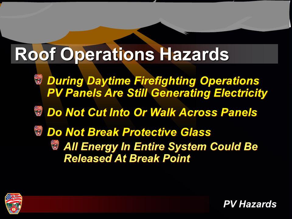 Roof Operations Hazards