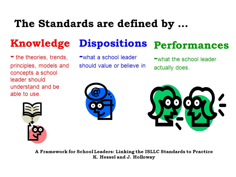 The Standards are defined by …
