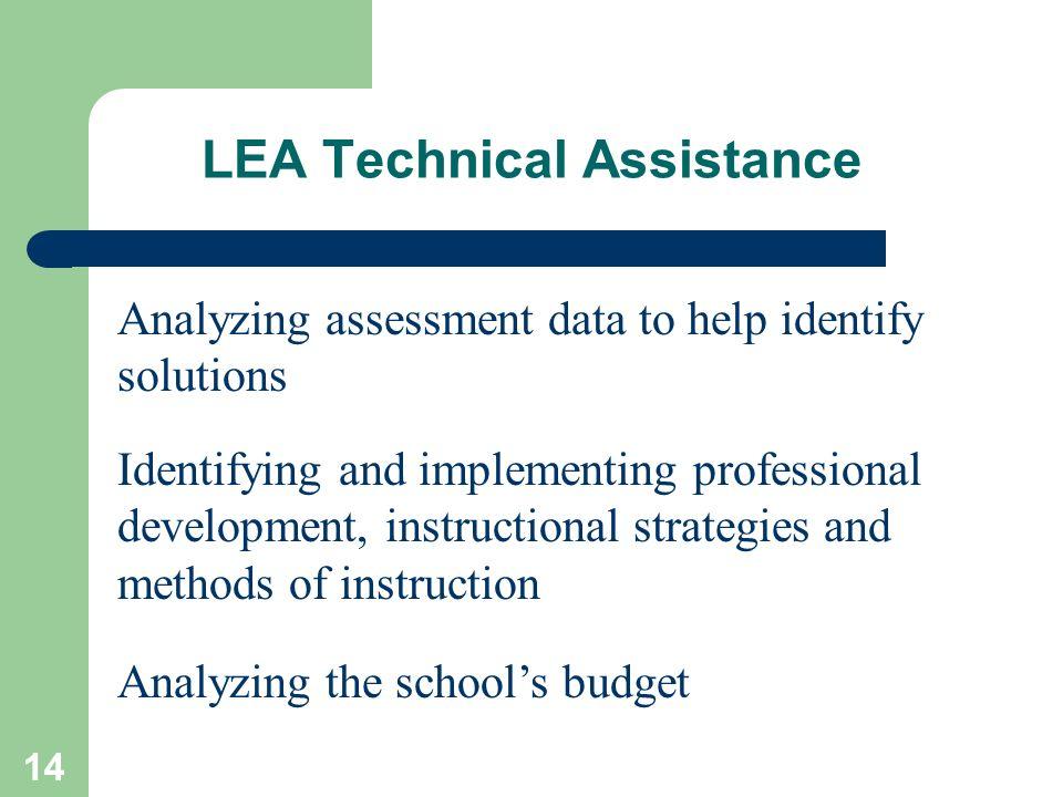 LEA Technical Assistance