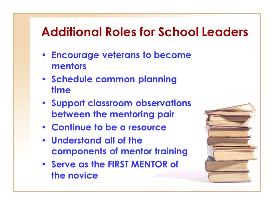 Additional Roles for School Leaders