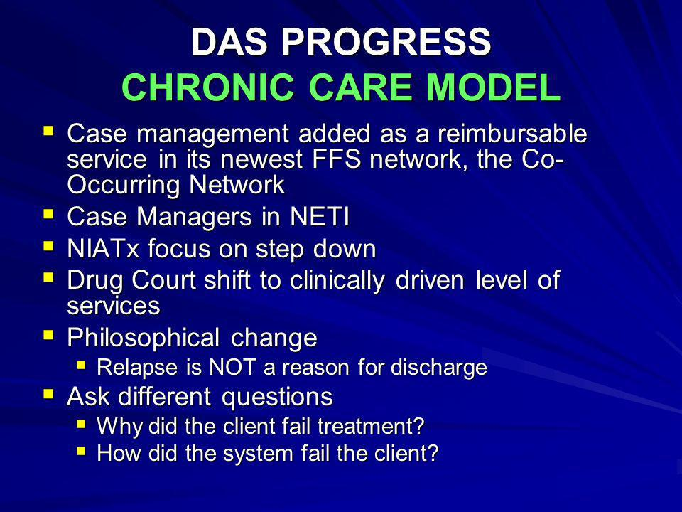 DAS PROGRESS CHRONIC CARE MODEL