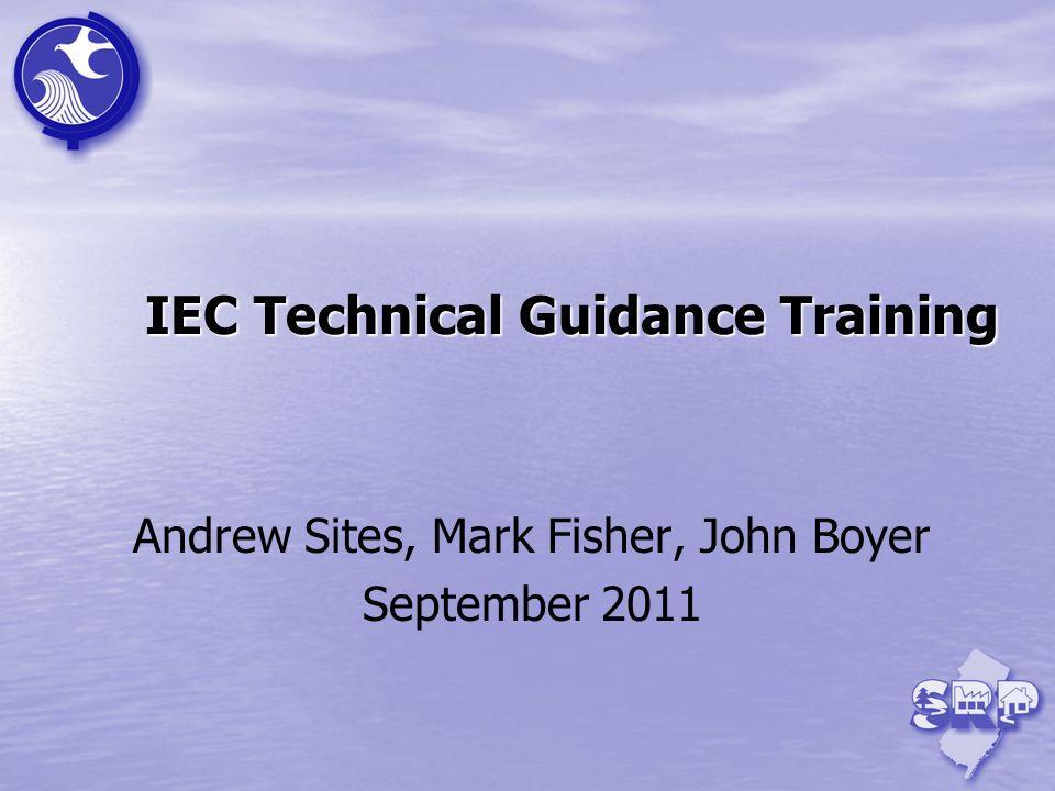 IEC Technical Guidance Training