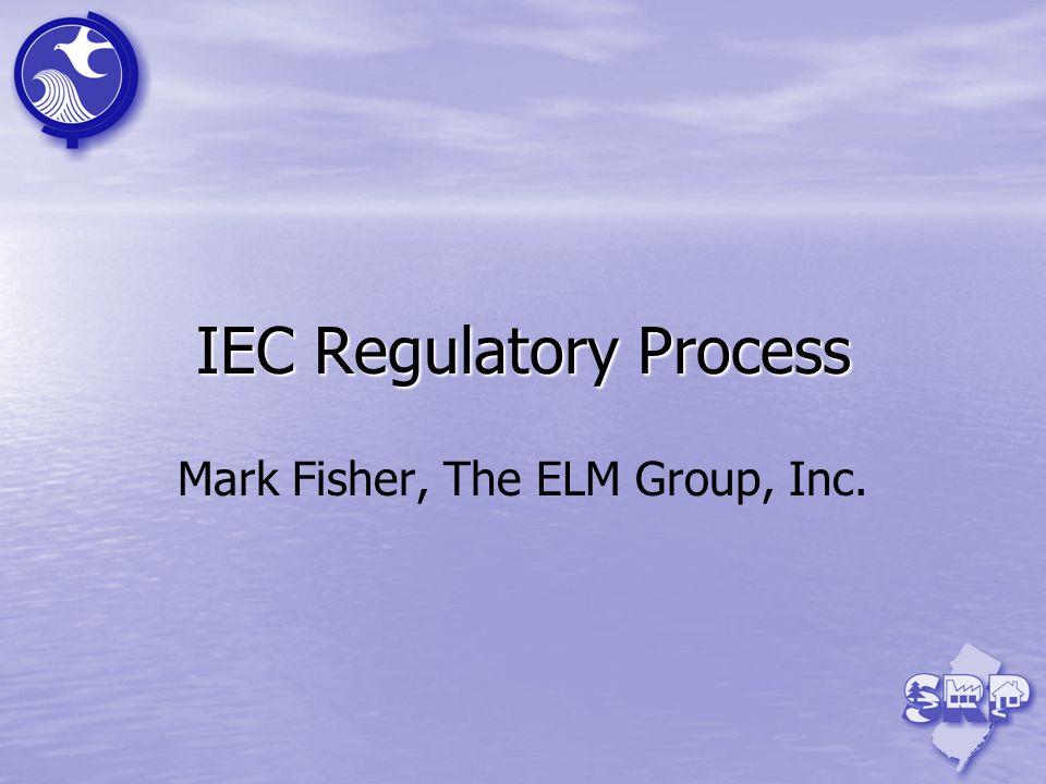 IEC Regulatory Process