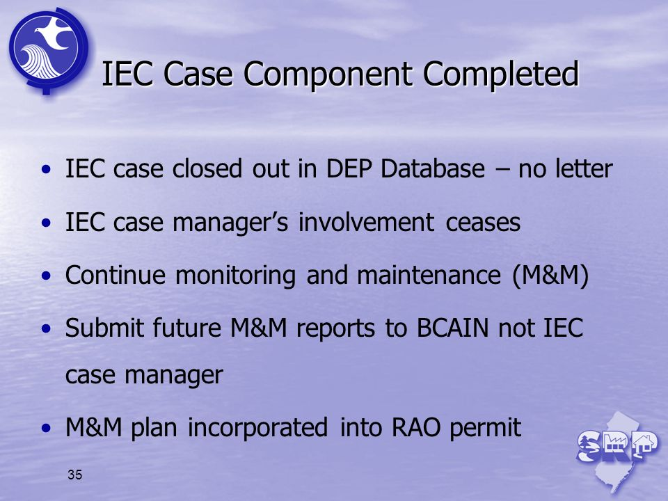 IEC Case Component Completed