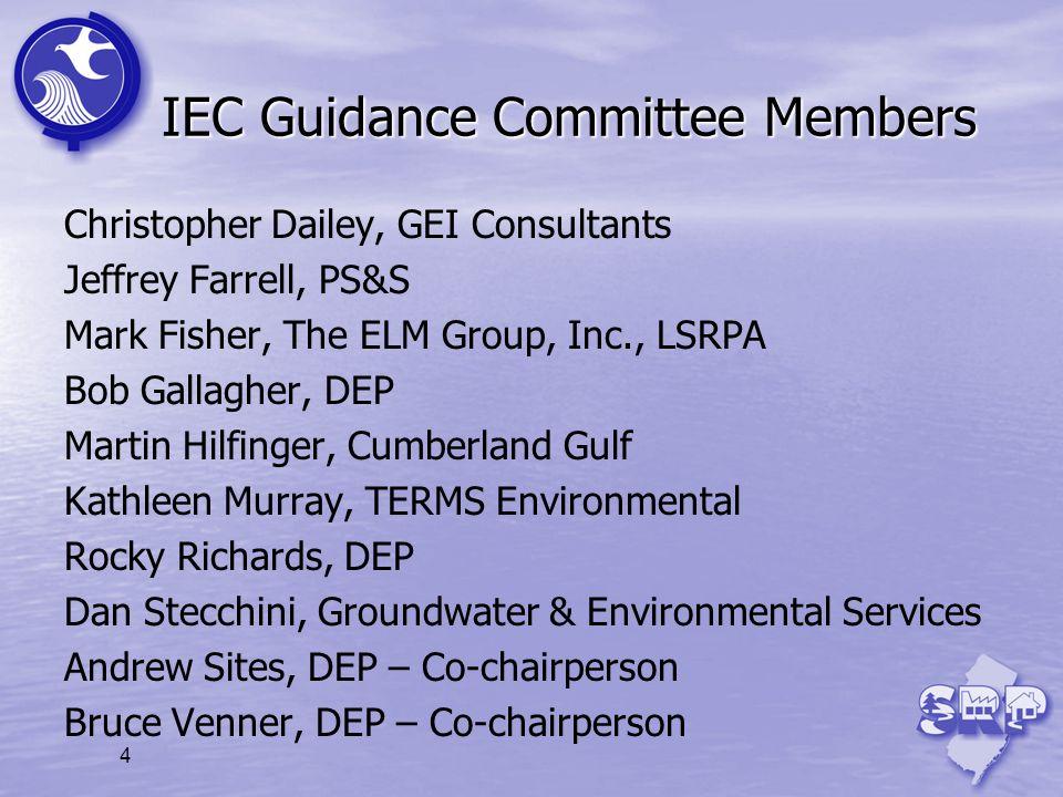 IEC Guidance Committee Members